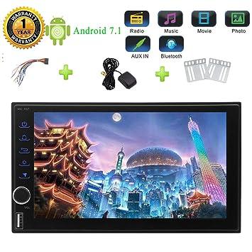 """7"""" 7.1 Octa-core CPU de doble Android 2 Din coche Stero pantalla t"""