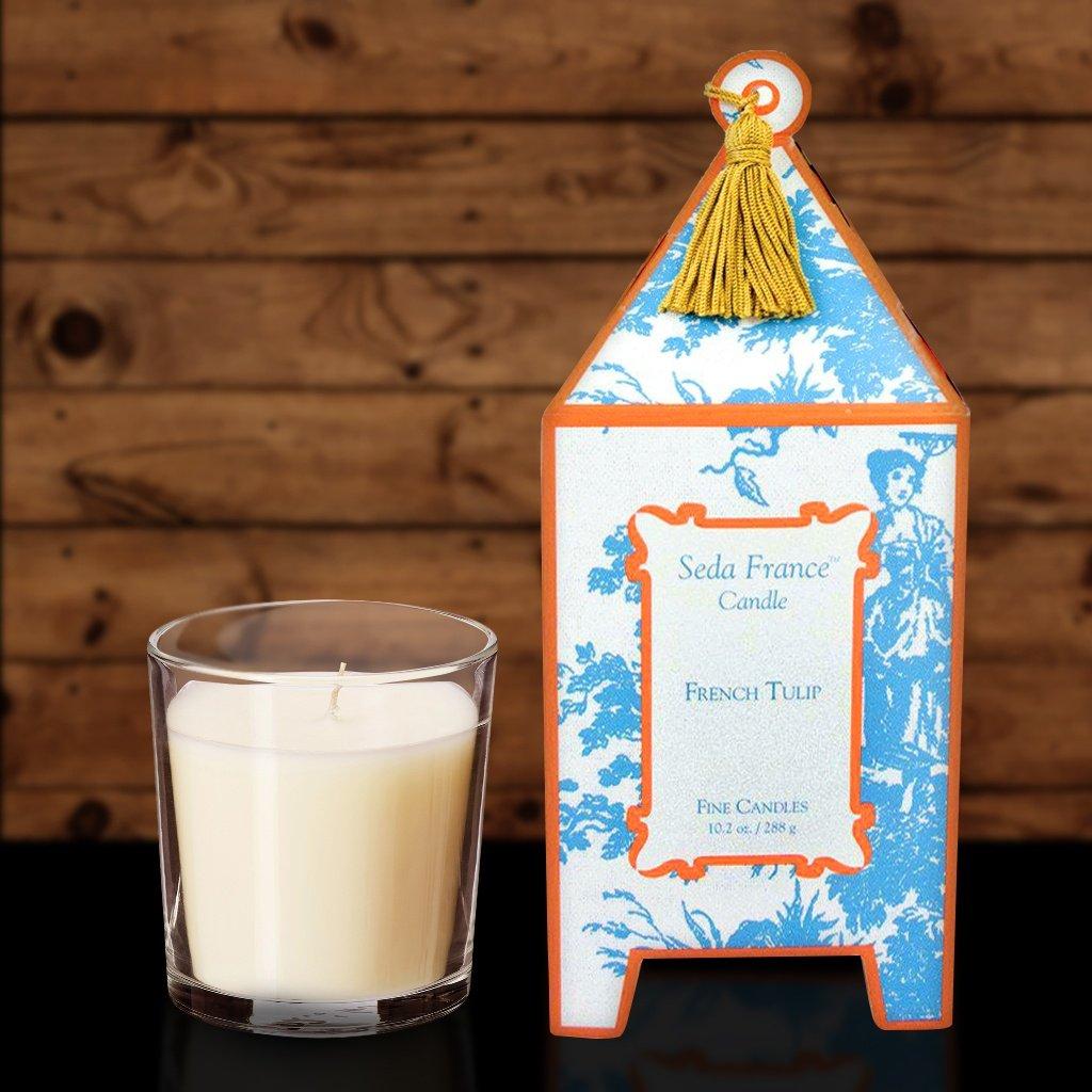 Amazon.com: Seda France Pagoda Candle - Japanase Quince 10.2 oz ...