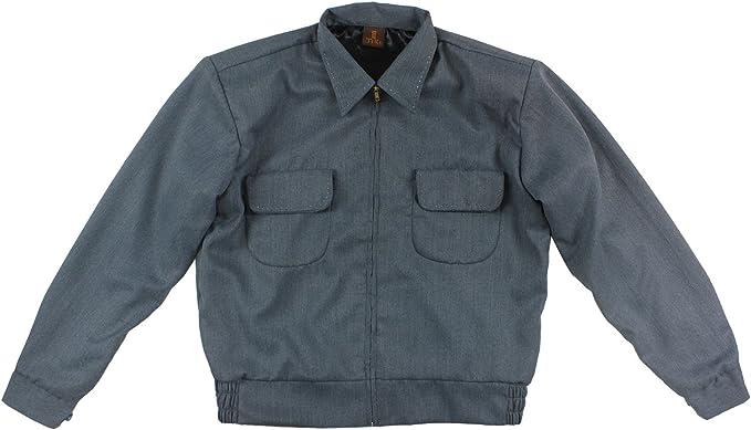 Aloha-Beachwear Vintage Fifties Ricky Jacket Gab Coseno Gabardine Chaqueta Rockabilly Teddy Boy, D100: Amazon.es: Ropa y accesorios