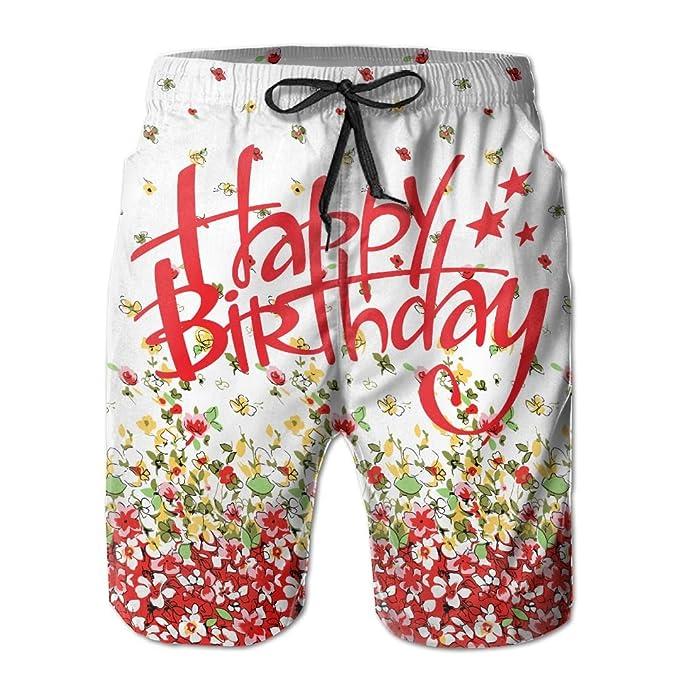 Amazon.com: chibaokun cumpleaños hombre secado rápido Swim ...