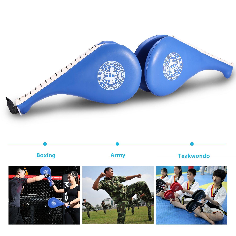 1 Pc Taekwondo Kick Pad with Double Layer Design Kick Focus Target Pad Practice Training Equipment