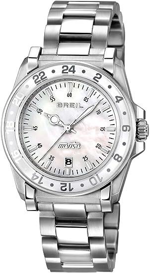 Breil Reloj analogico para Mujer de Cuarzo con Correa en Acero Inoxidable TW0818: BREIL: Amazon.es: Relojes