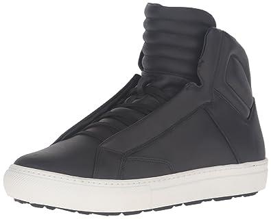 Aldo Men's Qelalle Fashion Sneaker, Black Leather, ...