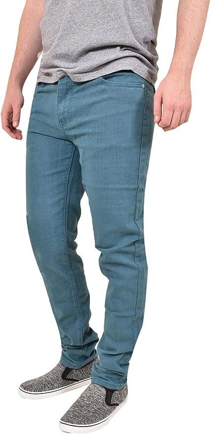 estilo informal WestAce Pantalones ajustados de chino el/ástico para hombre