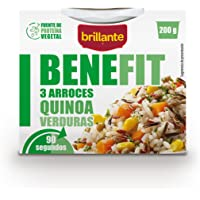 Brillante Benefit 3 Arroces Quinoa Verduras 200G