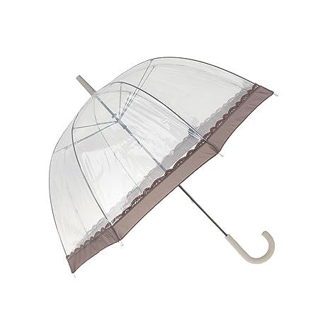 Parfois - Paraguas Long - Mujeres - Tallas L - Transparente