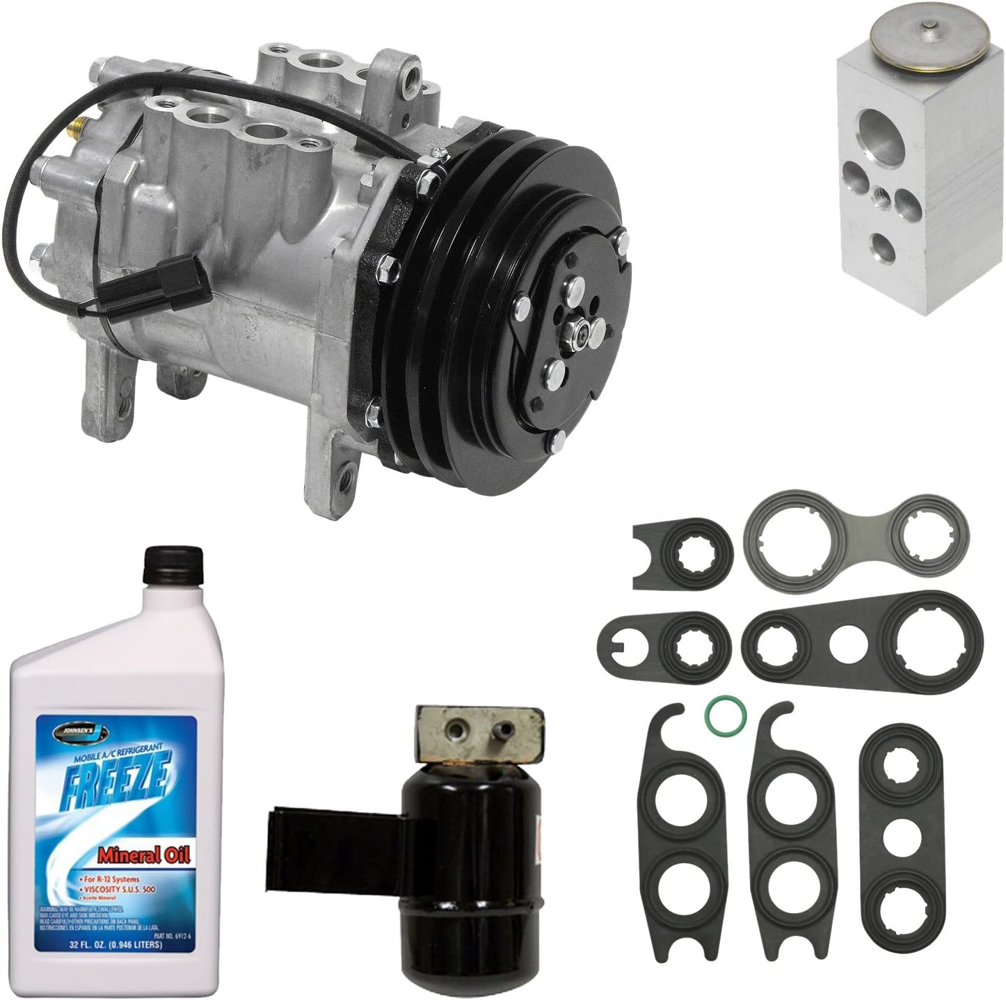 Universal Air Conditioner KT 1240 A//C Compressor and Component Kit