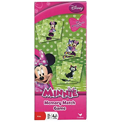 Disney Minnie Mouse Bowtique Memory Match Game: Toys & Games