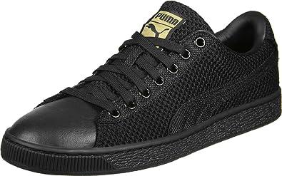 Puma Basket Tech Pack Schuhe schwarz gold