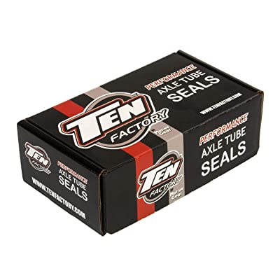 Ten Factory MG21102 Red Dana Axle Tube Seal, Pair (30/44): Automotive