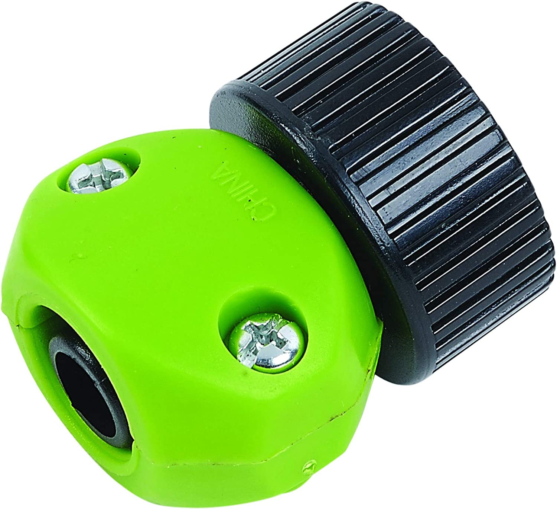Yardsmith 620043 1/2 in. Female Repair Hose Coupler, Green/Black