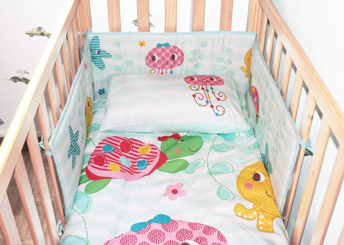 Berceau protecteur Dinosaure Baby Bumper 100/% coton 30 x 180 cm Tour de Lit