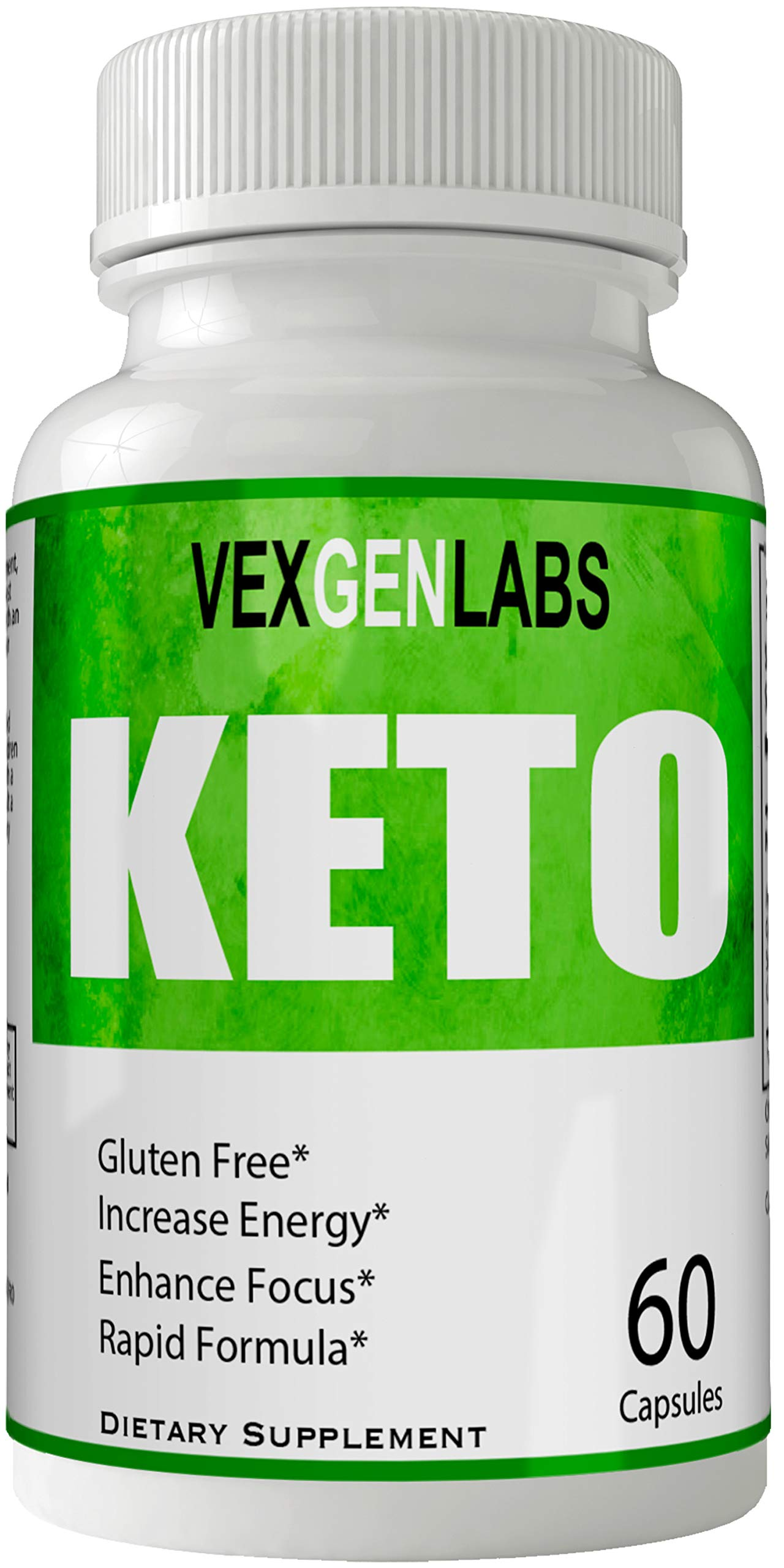 Vexgen Keto Pills Advance Weight Loss Supplement, Appetite Suppressant with Ultra Advanced Natural Ketogenic Capsules, 800 mg Fast Formula with BHB Salts Ketone Diet Boost Metabolism and Pulls Focus