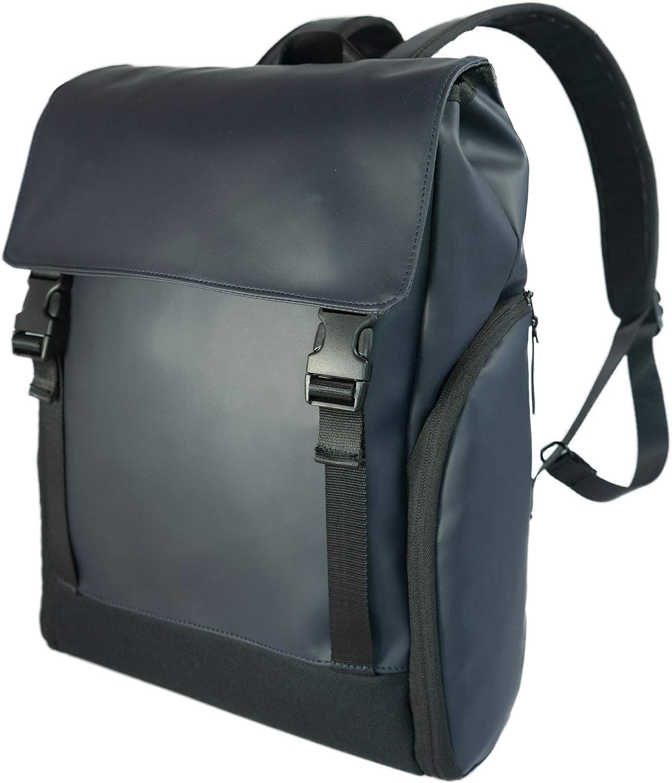 Sleek 15.6 in Laptop Travel School Backpack   USB Charging Port, Anti theft, Water Resistant Backpack For Men & Women 20L