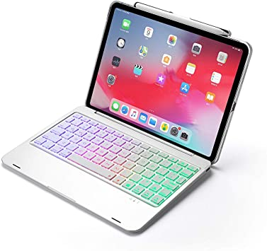 Aidashine Funda Teclado para iPad Pro 11 Pulgadas, 7 Colores ...