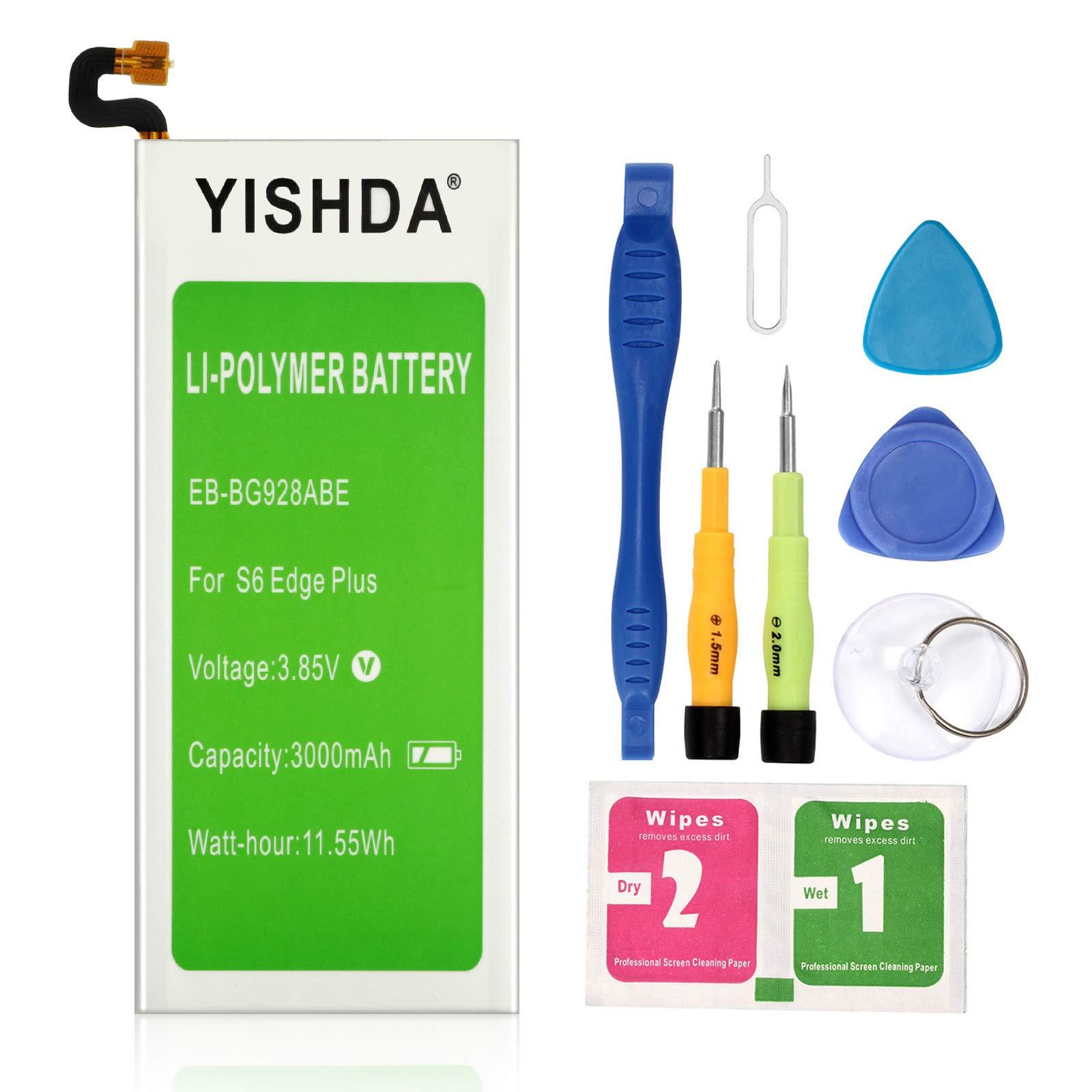 Bateria Celular Yishda Galaxy S6 Edge Plus 3000mah Samsung Galaxy S6 Edge Plus Con Herramientas Compatible Sm G928 Eb Bg