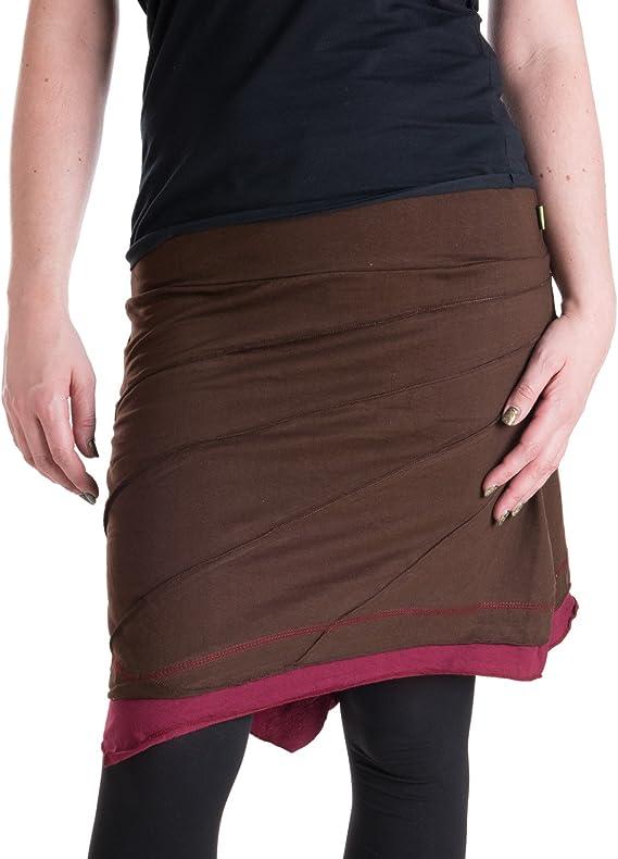 Warmer Lagenlook Fleece Rock mit Taschen zum Binden Alternative Bekleidung Vishes