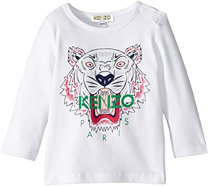 3ec281cf Amazon.com: Kenzo Kids Womens Tiger T-Shirt (Infant): Clothing