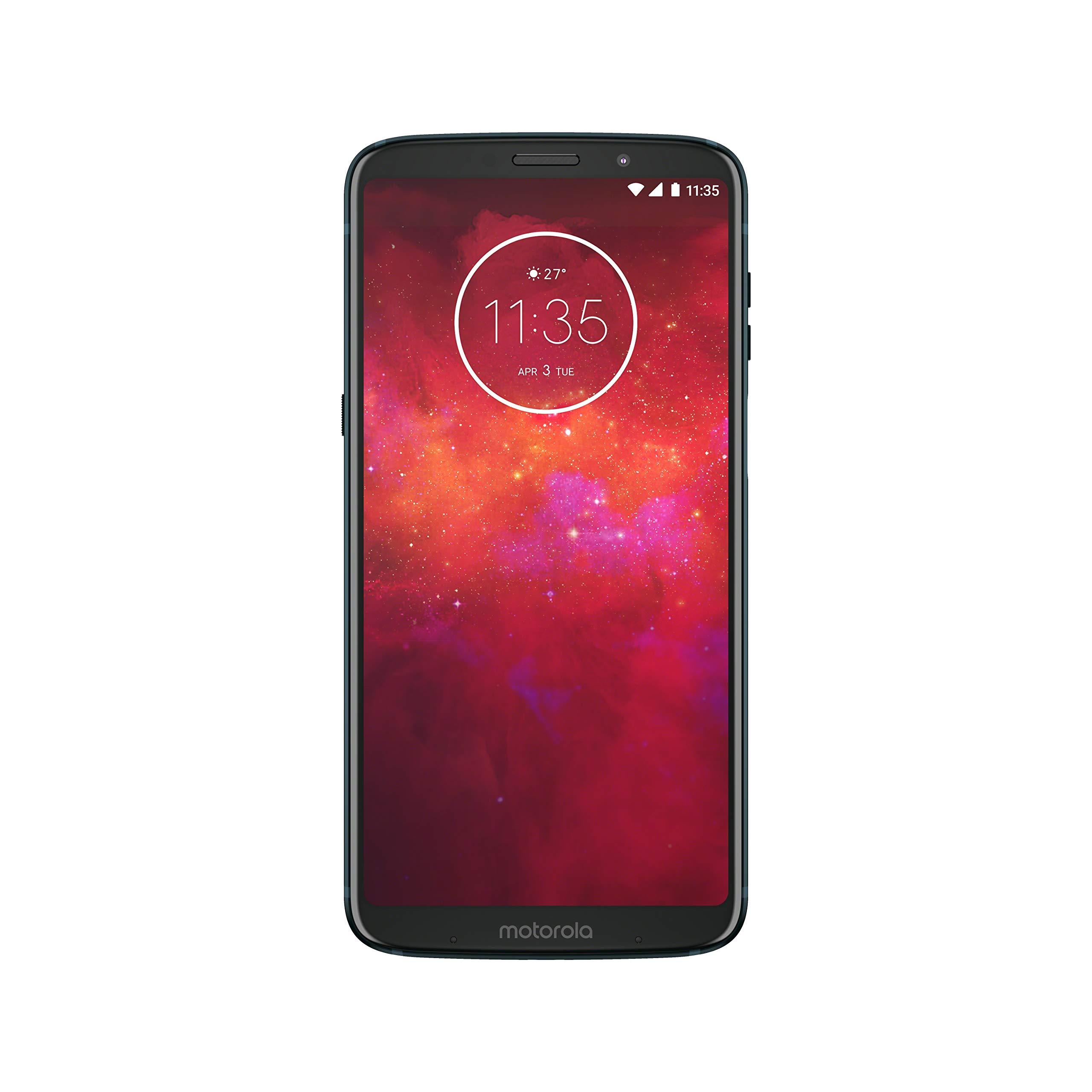 Moto Z3 Play – Unlocked – 32 GB – Deep Indigo (US Warranty) – Verizon, AT&T, T-Mobile, Sprint