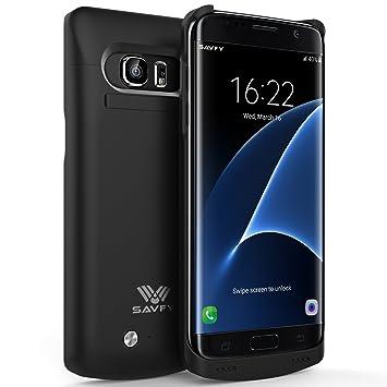 Funda Batería Galaxy S7 Edge , SAVFY® Case carcasa Con Batería ...