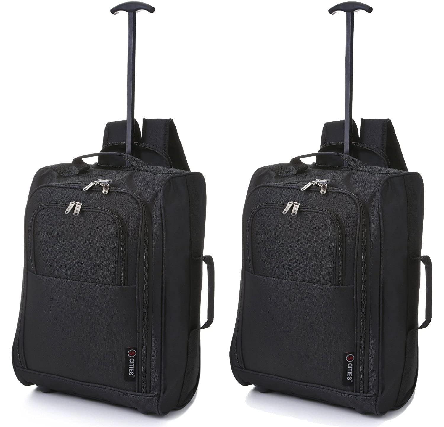 Amazon.com: 5 Cities Cabin Approved Multi-use Carry On Flight Bags ...