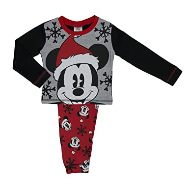 mickey mouse christmas pyjamas age 12 months 4 year 3 4 years - Mickey Mouse Christmas Pajamas
