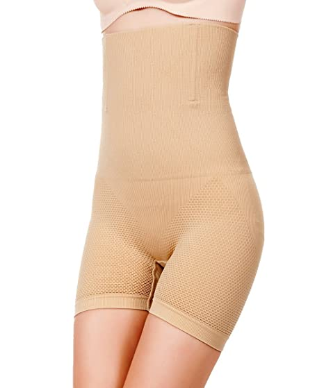 3bb419d11 FUT Women Slim Lift Tummy Control Shaper Girdle Pants High Waist ...