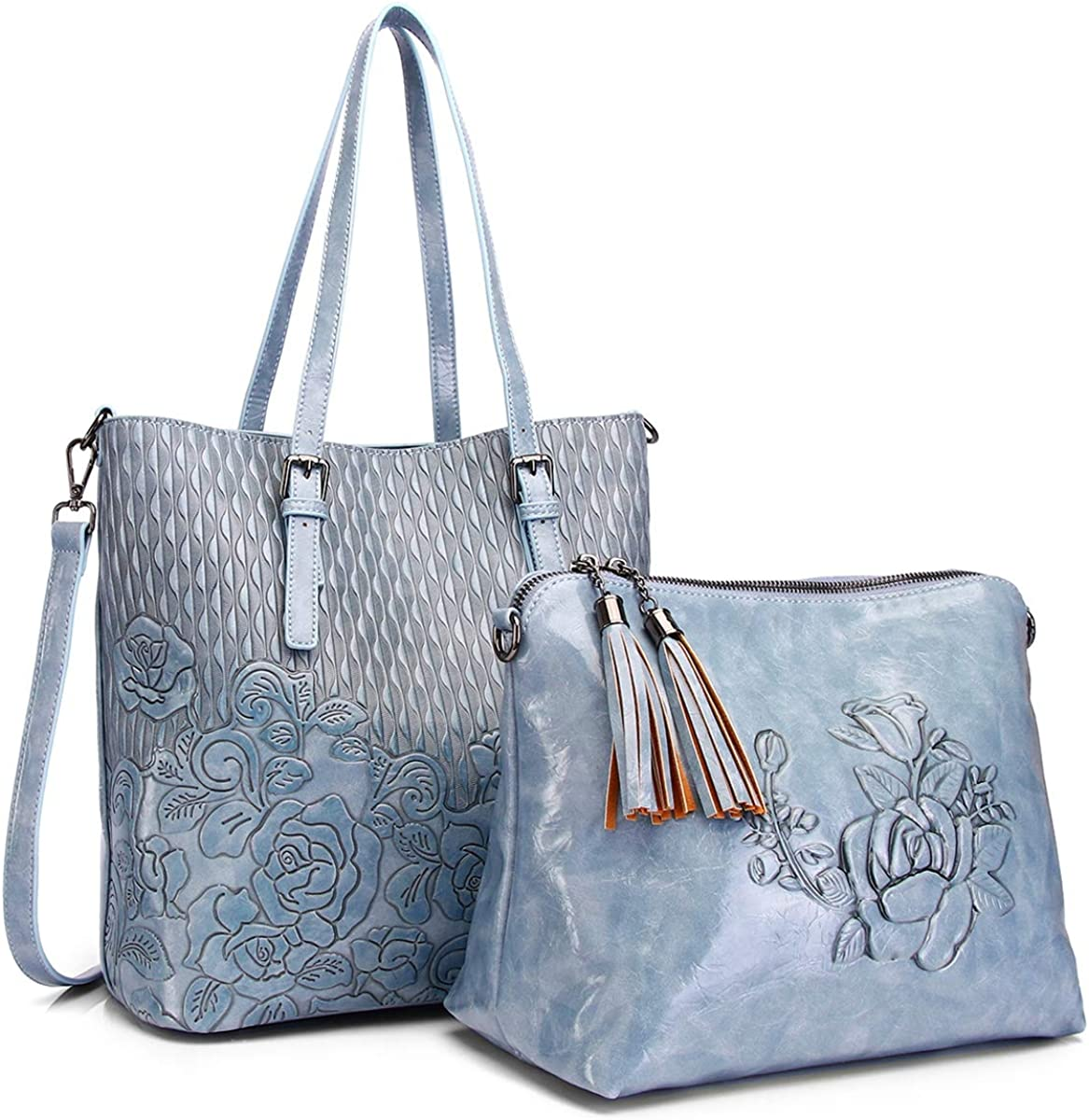 Designer Women Handbag Purse Ladies Totes Embossed Large Capacity Satchels Crossbody Shoulder Bags 95810