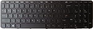 New Genuine HP ProBook 450 455 470 G3 ProBook 650 G2 655 G2 Keyboard No Backlit 831021-001