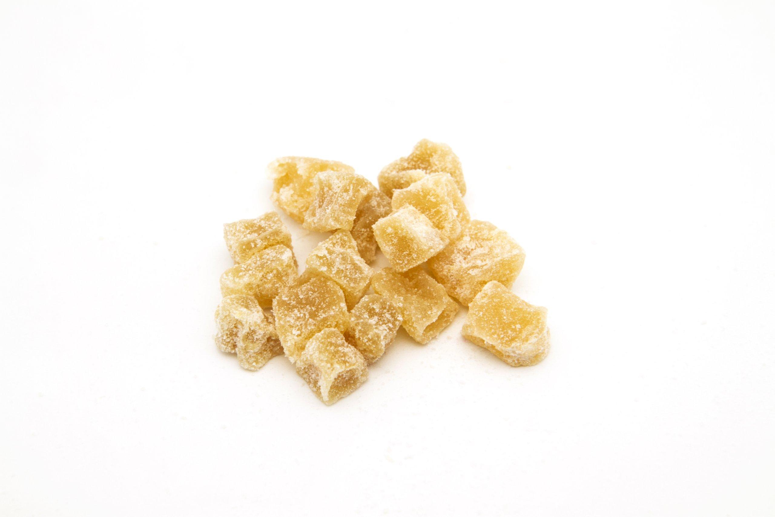 11 lb Bag Bulk Pack Crystallized Ginger Cubes 12-20mm