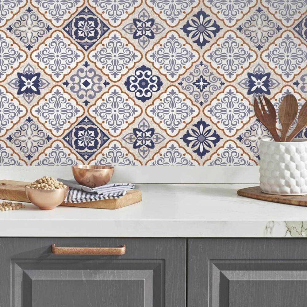 Vinilo Decorativo Pared [7DGJRYF8] azulejos mexicanos