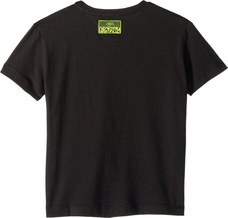 Toddler//Little Kids Versace Kids Baby Boys Short Sleeve Medusa Necklace Graphic T-Shirt
