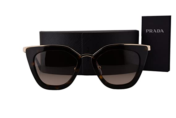 eb7050565bb3 Image Unavailable. Image not available for. Color: Prada PR53SS Sunglasses  Havana w/Brown Gradient Lens ...