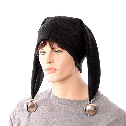 Jester Hat Cufflinks  Cap and Bells
