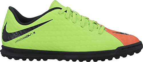 the best attitude ad1e1 c7b99 Nike Hypervenomx Phade Iii Tf, Botas de Fútbol Unisex Niños, Grün (Elctrc  Green