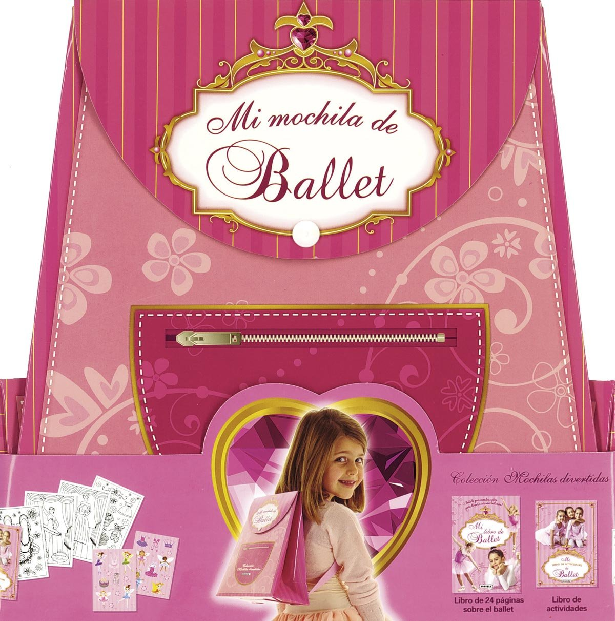 Mi mochila de ballet / My backpack of ballet (Spanish Edition) (Spanish) Hardcover – Illustrated, June 30, 2012