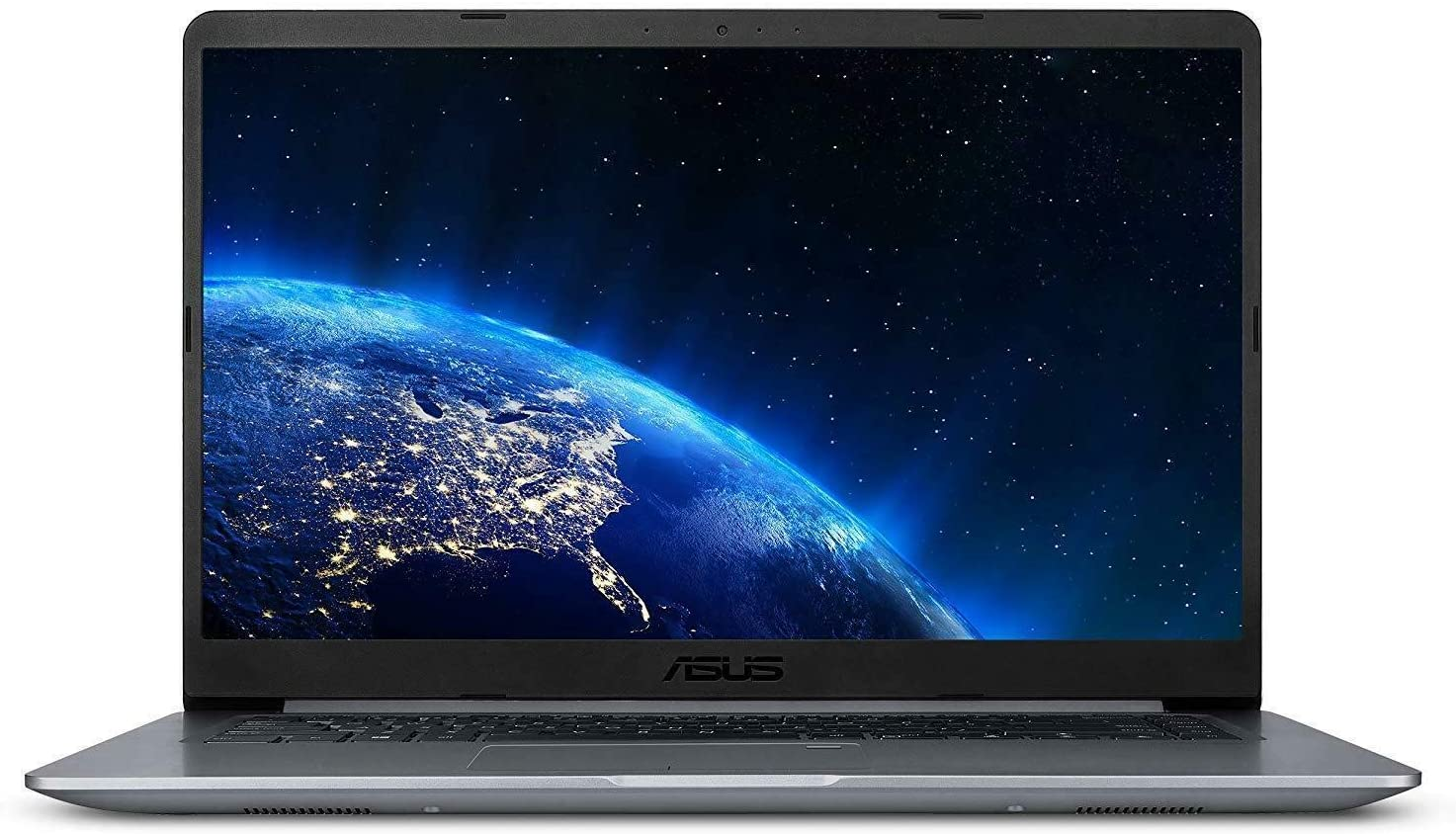 "ASUS VivoBook 15.6"" FHD Anti-Glare Laptop, Intel Quad Core A12-9720P 2.7GHz up to 3.6GHz, 4GB DDR4, 128GB SSD, AMD Radeon R7, USB Type-C, Bluetooth, Fingerprint Reader, Webcam, WiFi, HDMI, Windows 10"