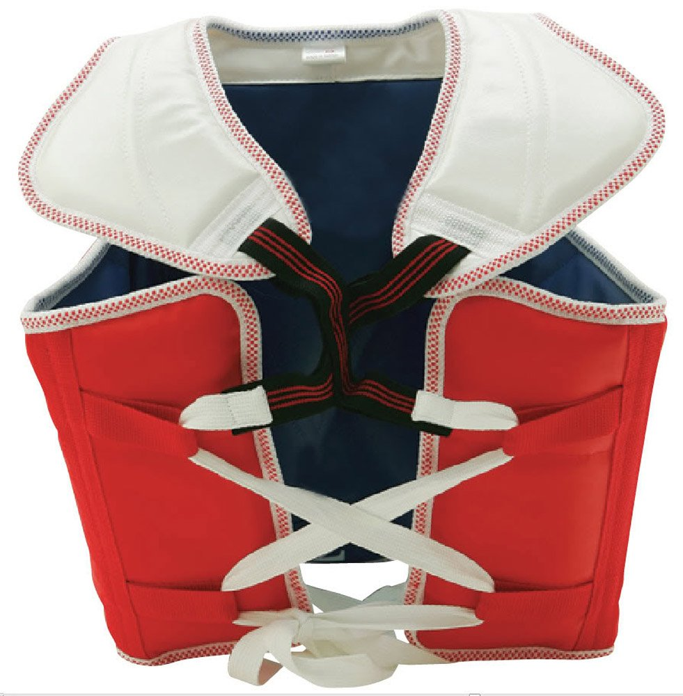 Taekwondo Reversible Chest Guard New WTF Style AKROSS