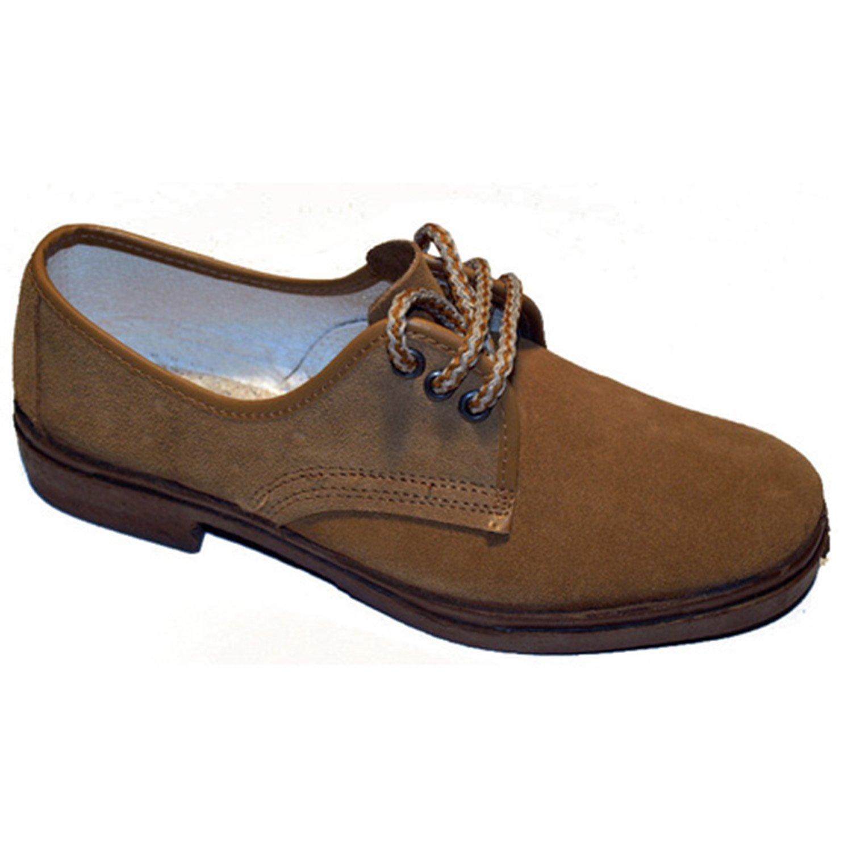 Zapato trabajo cordones serraje Vulsega en camel talla 42 68Dcw