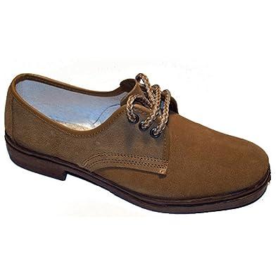 Zapato trabajo cordones serraje Vulsega en camel talla 39 I3CTj2h