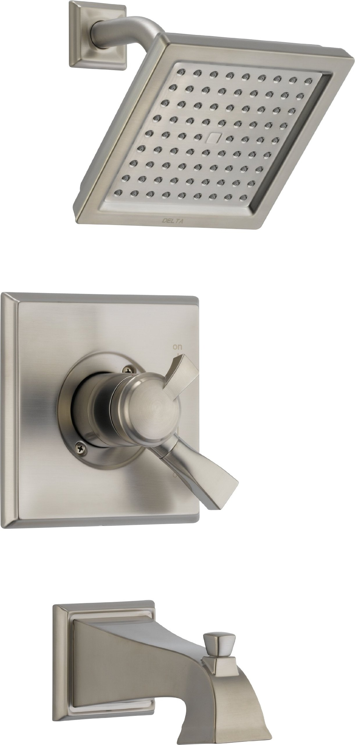 Delta T17451-SS Dryden Monitor 17 Series Tub and Shower Trim, Stainless