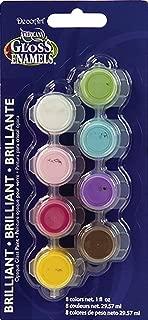 product image for DecoArt Americana 8-Pot Gloss Enamel Paint Set, Brights