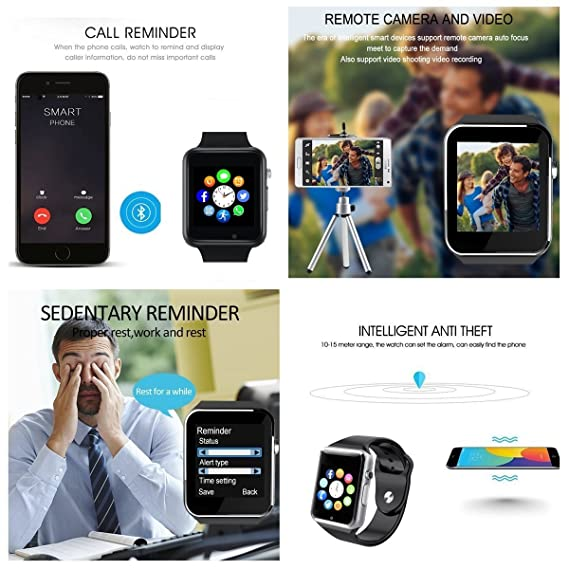 DZ09 - Reloj inteligente con Bluetooth - Wzpiss desbloqueado ...