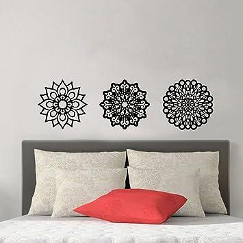 Amazon.com: Vinilo adhesivo decorativo para pared – Juego de ...
