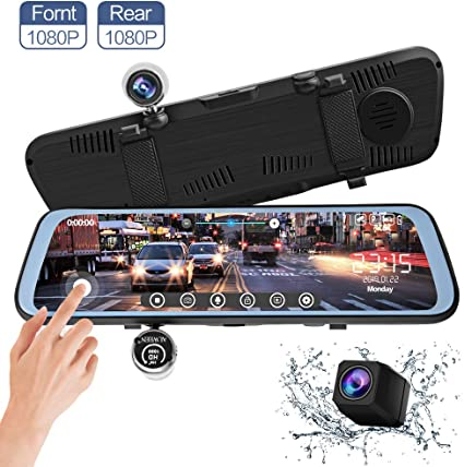 Dash Cam Car Camera With Sensor Rearview Radar Parking Sensors IP67 Waterproof