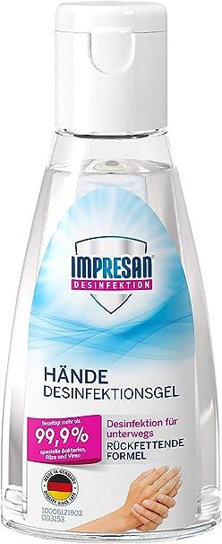 Impresan Hande Desinfektions Gel Antibakterielle Hand Reinigung