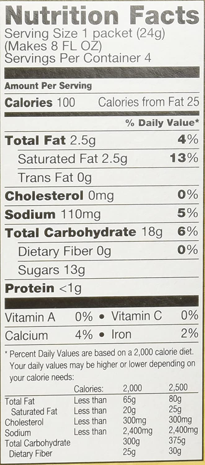 Folgers Coffee Nutrition Facts Besto Blog