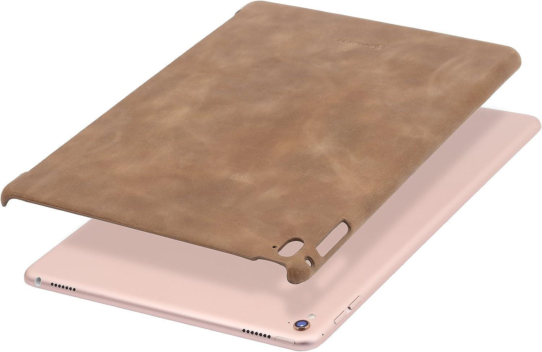 StilGut Cover, Genuine Leather Back Case for Apple 9.7