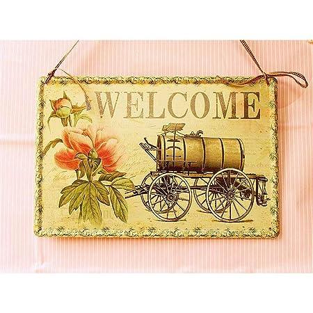 Cartel de bienvenida para colgar en la pared Cartel de ...
