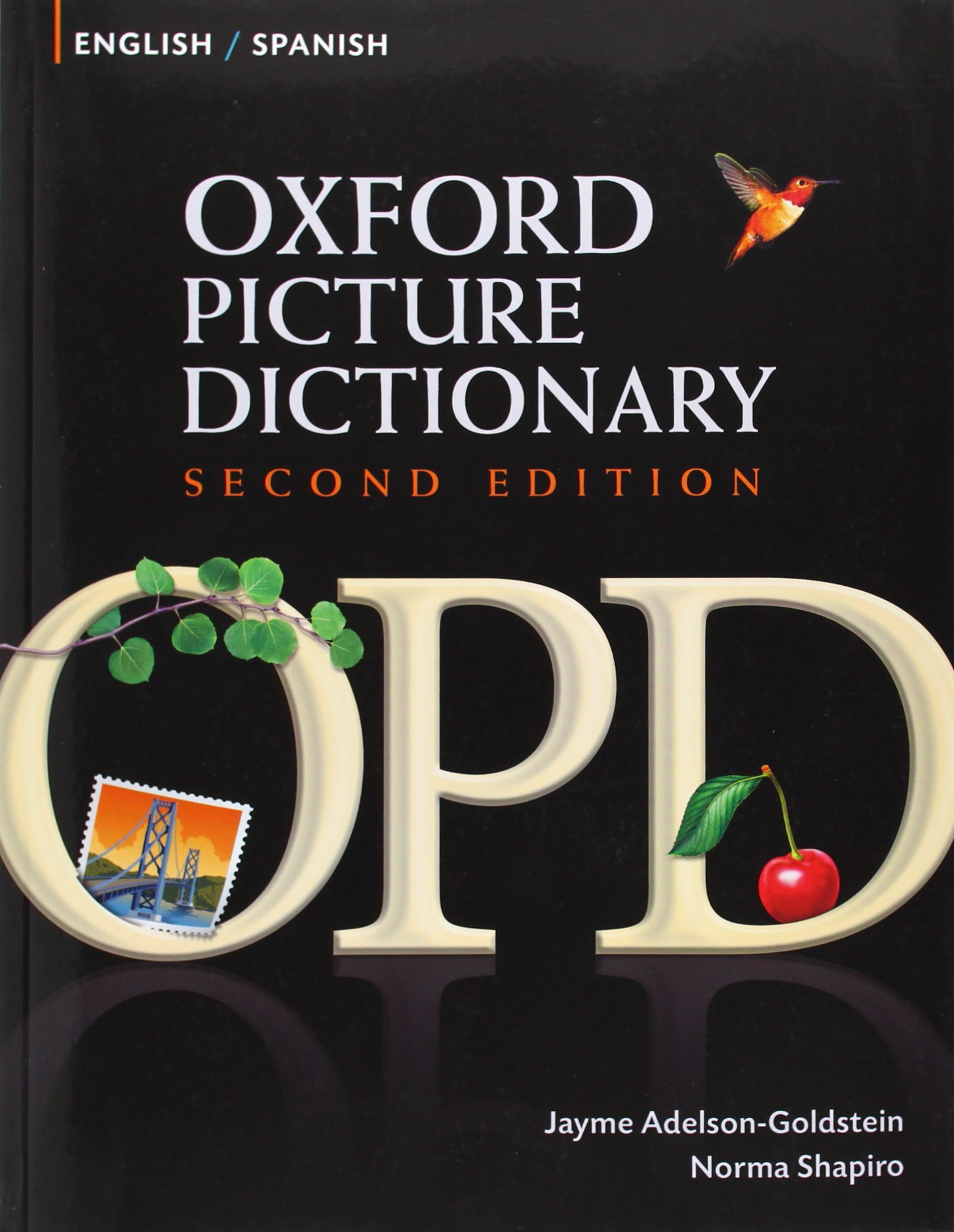 Oxford picture dictionary second edition english spanish jayme adelson goldstein norma shapiro 9780194740098 spanish amazon canada